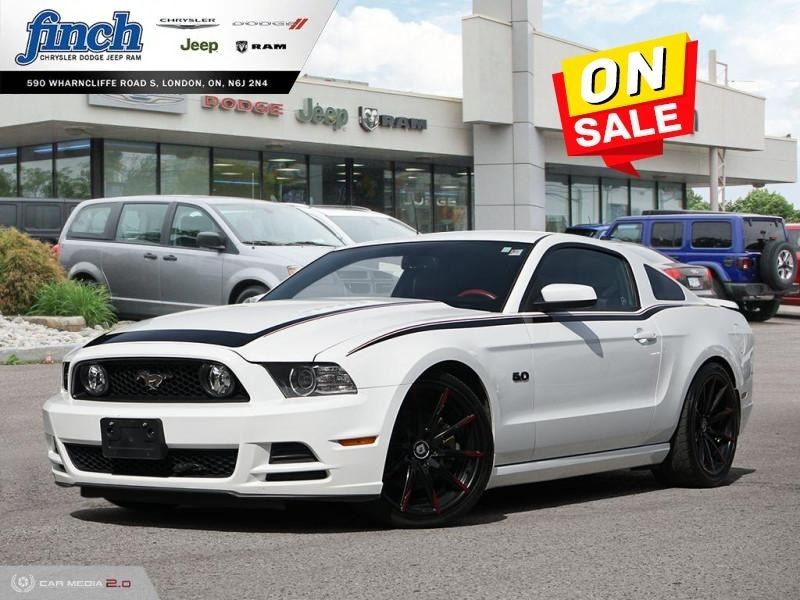 Featured Used 2014 Ford Mustang GT - Leather Seats -  Bluetooth - $197 B/W Coupe for sale near you in London, ON