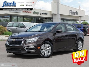2015 Chevrolet Cruze 1LT - Bluetooth -  Siriusxm - $103 B/W Sedan