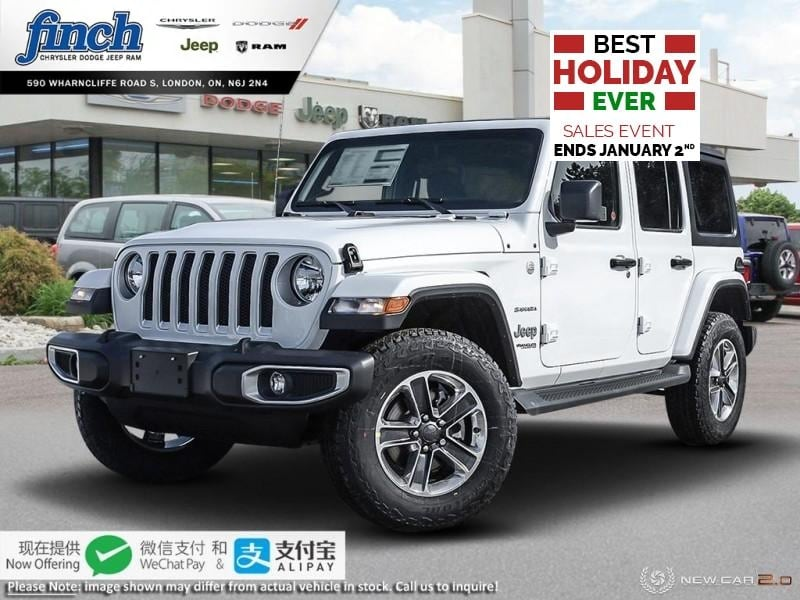Featured New 2019 Jeep Wrangler Sahara - $286 B/W SUV for sale near you in London, ON