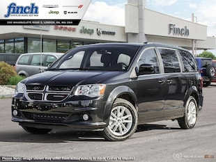 2019 Dodge Grand Caravan SXT Premium Plus - Uconnect - $200.35 B/W Van