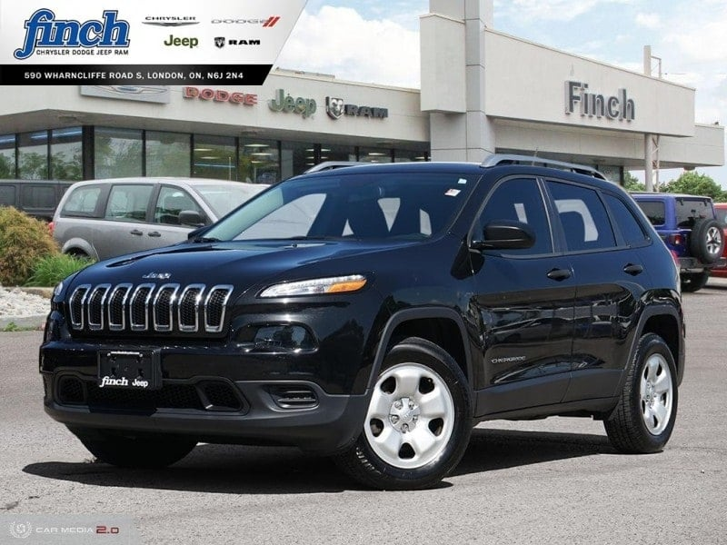 Featured Used 2016 Jeep Cherokee Base - $115 B/W SUV for sale near you in London, ON