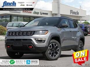 2020 Jeep Compass Trailhawk - $215 B/W SUV 3C4NJDDB5LT108532