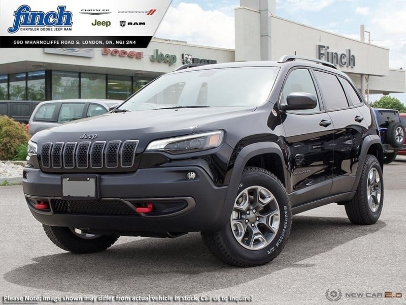 Featured New 2019 Jeep New Cherokee Trailhawk - Navigation -  Uconnect - $218 B/W SUV for sale near you in London, ON