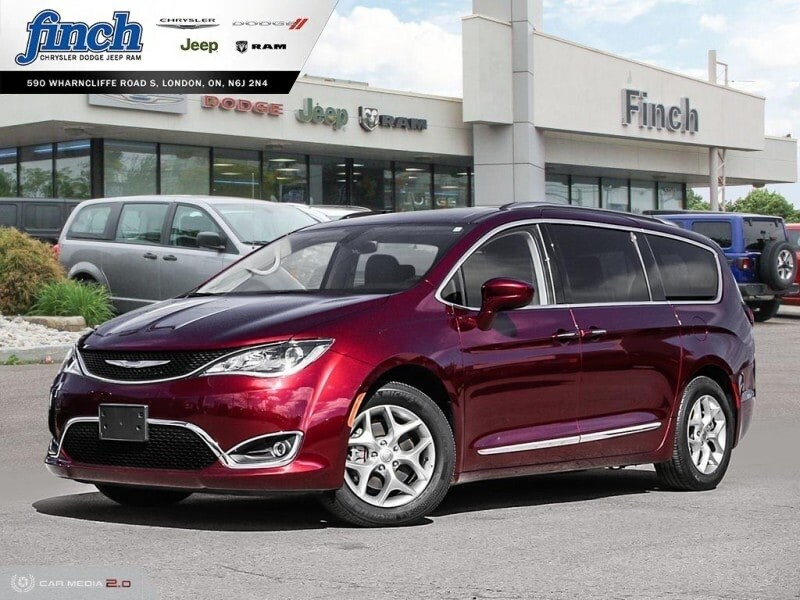 Featured Used 2018 Chrysler Pacifica Touring-L Plus/8 Passenger/Safetytec - $251 B/W Van for sale near you in London, ON