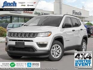 2020 Jeep Compass Sport - $195 B/W SUV 3C4NJDAB0LT161790
