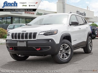 Demo 2019 Jeep Cherokee Trailhawk - Navigation -  Uconnect - $207 B/W SUV for sale near you in London, ON