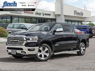 New 2019 Ram All-New 1500 Laramie - Leather Seats -  Cooled Seats - $391.31 Truck Crew Cab for sale in London, Ontario