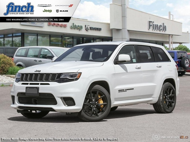 Featured New 2018 Jeep Grand Cherokee Trackhawk 4x4 - Navigation SUV for sale near you in London, ON