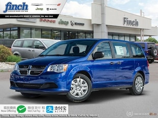 2019 Dodge Grand Caravan Canada Value Package - $160 B/W Van 2C4RDGBG2KR762558
