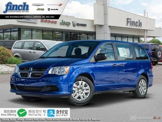 New 2019 Dodge Grand Caravan Canada Value Package - $160 B/W Van for sale in London ON