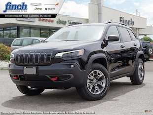 2019 Jeep New Cherokee Trailhawk - Navigation -  Uconnect - $214 B/W SUV 1C4PJMBX3KD446605