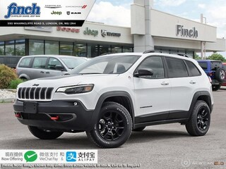 New 2020 Jeep Cherokee Trailhawk Elite - $253 B/W SUV for sale in London ON