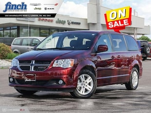 2019 Dodge Grand Caravan Crew Plus - Low Mileage Van