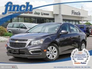 2015 Chevrolet Cruze 1LT - Bluetooth -  Siriusxm - $109.90 B/W Sedan