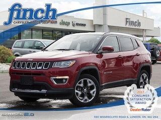 New 2018 Jeep Compass Limited - Leather Seats -  Bluetooth - $239.96 B/W SUV for sale in London, Ontario
