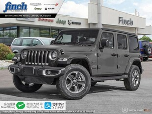 2020 Jeep Wrangler Sahara - $322 B/W SUV 1C4HJXEG3LW210222