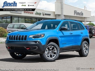 Demo 2019 Jeep Cherokee Trailhawk Elite - $220.77 B/W SUV for sale near you in London, ON