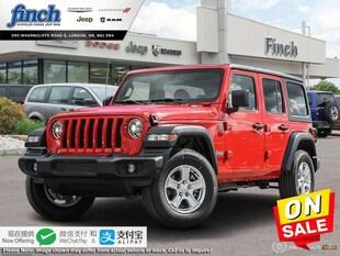 2020 Jeep Wrangler Sport S - $257 B/W SUV 1C4HJXDN5LW259163