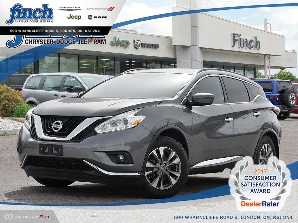 Featured Used 2017 Nissan Murano - $171 B/W SUV for sale near you in London, ON