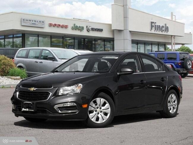 Used 2015 Chevrolet Cruze 1LT - Bluetooth -  Siriusxm - $113.83 B/W Sedan in London, ON