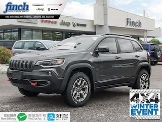 New 2020 Jeep Cherokee Trailhawk Elite - $258 B/W SUV for sale in London ON