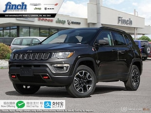 2020 Jeep Compass Trailhawk - Sunroof - Leather Seats - $238 B/W SUV 3C4NJDDB3LT108545