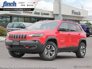 Demo 2019 Jeep Cherokee Trailhawk - Bluetooth - $208.59 B/W SUV for sale near you in London, ON
