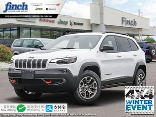 New 2020 Jeep Cherokee Trailhawk - $236 B/W SUV for sale in London ON