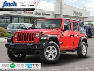 2020 Jeep Wrangler Sport - $272 B/W SUV 1C4HJXDN5LW259163