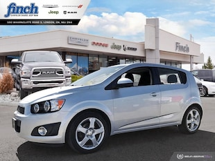 2015 Chevrolet Sonic LT - Heated Seats -  Backup Camera - $79 B/W Sedan