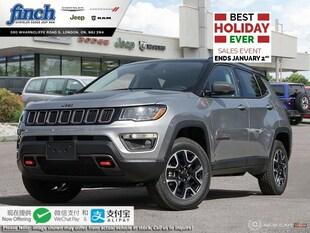 2020 Jeep Compass Trailhawk - $237 B/W SUV 3C4NJDDB5LT108532