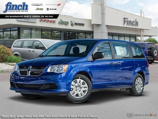 New 2019 Dodge Grand Caravan SE Plus -  Dual Zone AC - $149.10 B/W Van for sale near you in London, Ontario