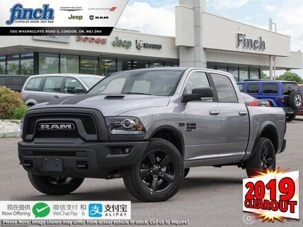 Featured New 2019 Ram 1500 Classic Warlock - $260 B/W Truck Crew Cab for sale near you in London, ON