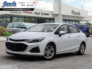 2019 Chevrolet Cruze LT - Apple Carplay -  Android Auto Sedan 1G1BE5SM6K7101182