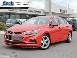 2018 Chevrolet Cruze Premier - Leather Seats - $133 B/W Sedan 1G1BF5SM5J7154662