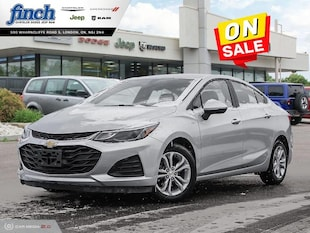 2019 Chevrolet Cruze LT - Apple Carplay -  Android Auto Sedan 1G1BE5SM5K7101190