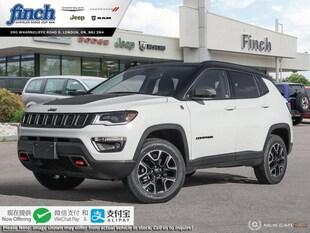 2019 Jeep Compass Trailhawk - Navigation -  Uconnect - $192 B/W SUV 3C4NJDDB3KT766655