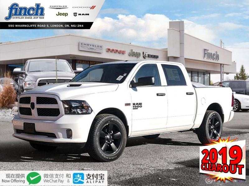 Featured New 2019 Ram 1500 Classic Express - $240 B/W Truck Crew Cab for sale near you in London, ON