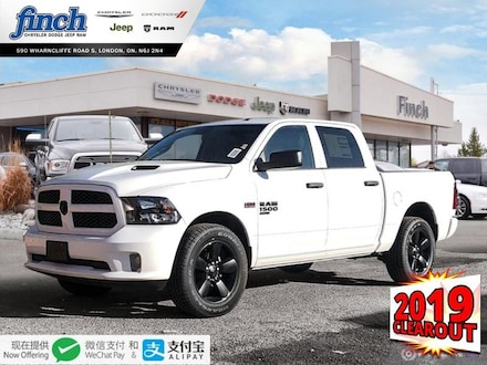 Featured New 2019 Ram 1500 Classic Express - $236 B/W Truck Crew Cab for sale near you in London, ON