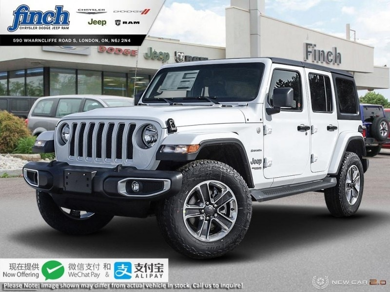 Featured New 2019 Jeep Wrangler Sahara - $283 B/W SUV for sale near you in London, ON