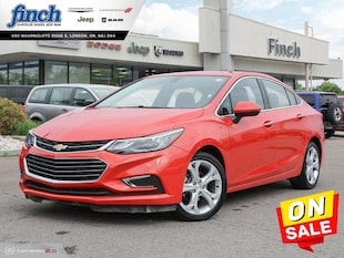 2018 Chevrolet Cruze Premier - Leather Seats - $112 B/W Sedan
