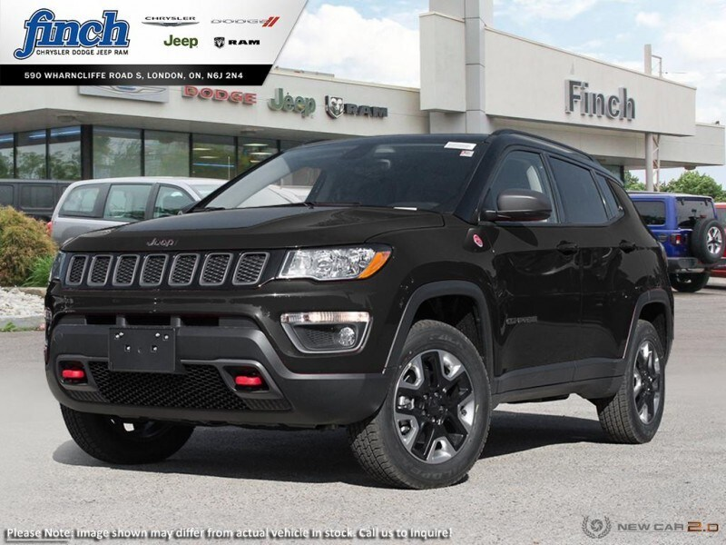 Featured New 2018 Jeep Compass Trailhawk - Leather Seats -  Bluetooth - $197.63 B SUV for sale near you in London, ON