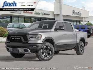 2019 Ram All-New 1500 Rebel - Leather Seats - Sunroof - $357.39 B/W Truck Crew Cab