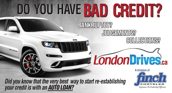 Car Dealer That Accept Bad Credit >> Bad Credit Auto Financing London On No Credit Auto Loans