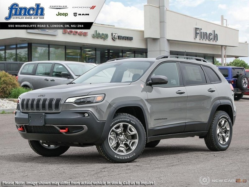 Featured New 2019 Jeep New Cherokee Trailhawk - Navigation -  Uconnect - $214.34 B/W SUV for sale near you in London, ON