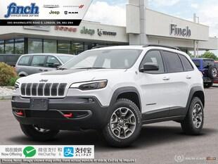 2020 Jeep Cherokee Trailhawk - $232 B/W SUV 1C4PJMBX0LD558733