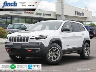 New 2020 Jeep Cherokee Trailhawk - $232 B/W SUV for sale in London ON