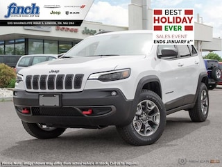 Demo 2019 Jeep Cherokee Trailhawk - $207 B/W SUV for sale near you in London, ON