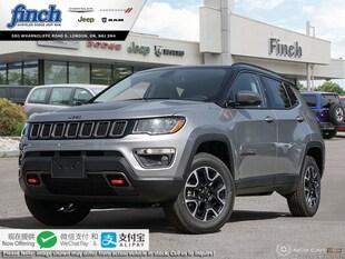 2020 Jeep Compass Trailhawk - Sunroof - Leather Seats - $225 B/W SUV 3C4NJDDB7LT104806