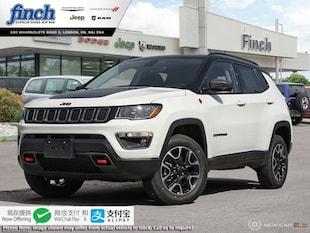 2020 Jeep Compass Trailhawk - Leather Seats - $210 B/W SUV 3C4NJDDB5LT104805